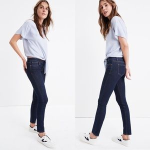 """Madewell 8"""" Skinny Jeans In Quincy Wash"""